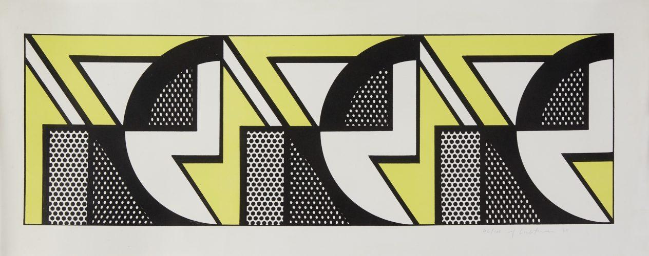 Repeated Design 1969 by Roy Lichtenstein