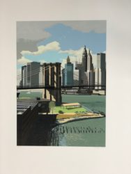 East River, New York by Richard Estes at