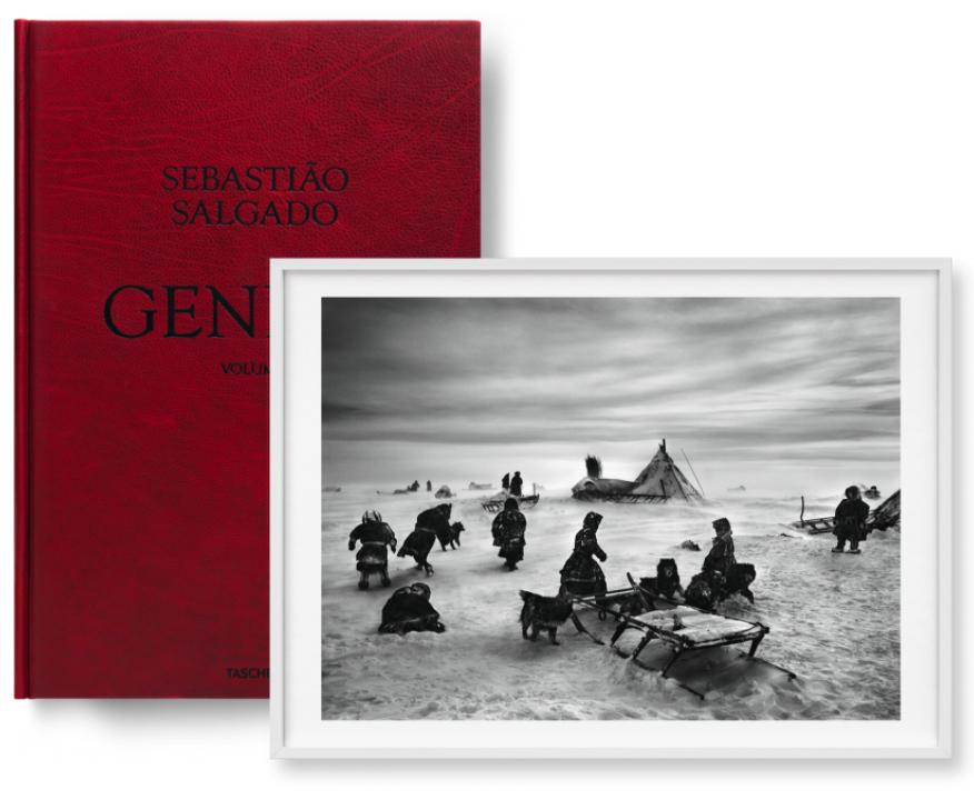 Genesis – North of the Ob River, Yamal Peninsula, Siberia, Russia by Sebastiao Salgado