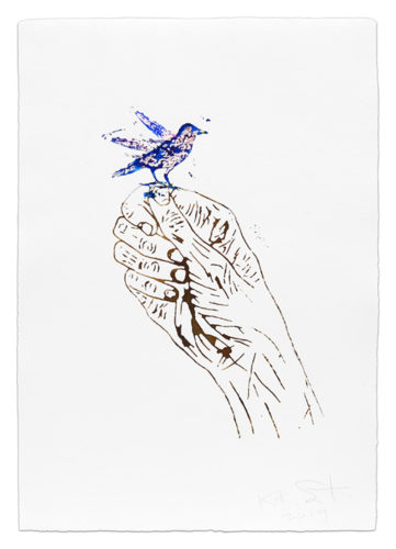 Little Bird by Kiki Smith