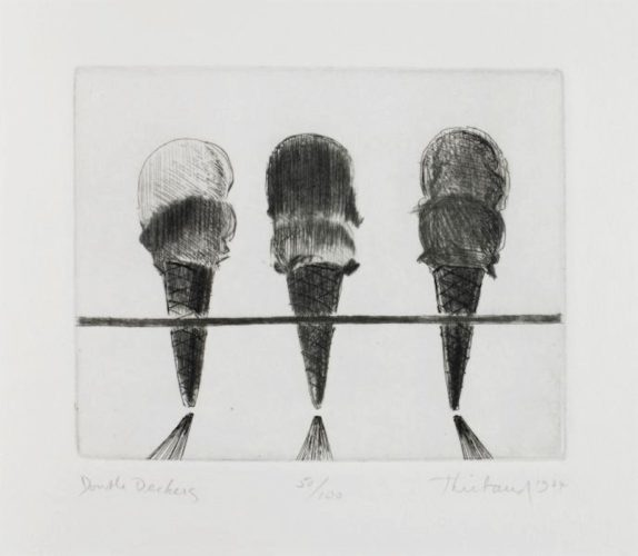 Double Deckers by Wayne Thiebaud at Michael Lisi/Contemporary Art
