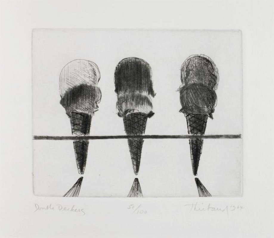 Double Deckers by Wayne Thiebaud
