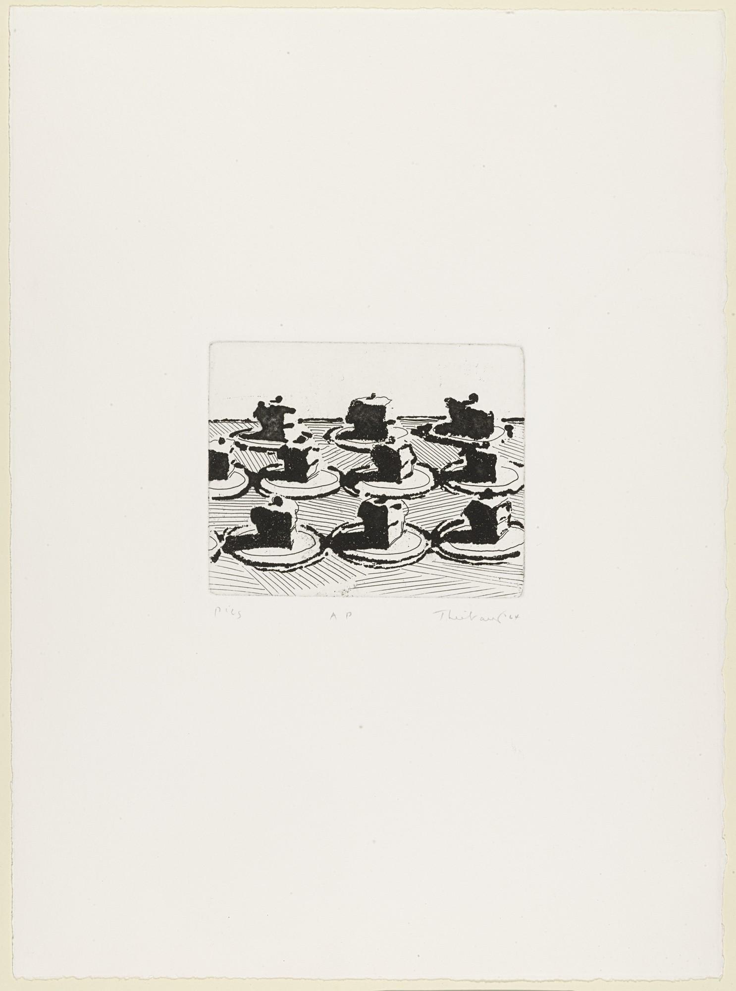 Pies by Wayne Thiebaud