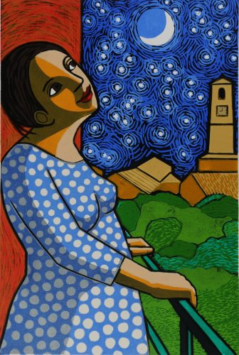 Starry Night by Anita Klein