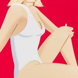 Coca Cola Girl 7 by Alex Katz at Maune Contemporary