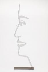 Ada Outline by Alex Katz at Maune Contemporary