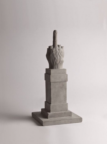 L.O.V.E. Souvenir di Milano by Maurizio Cattelan at