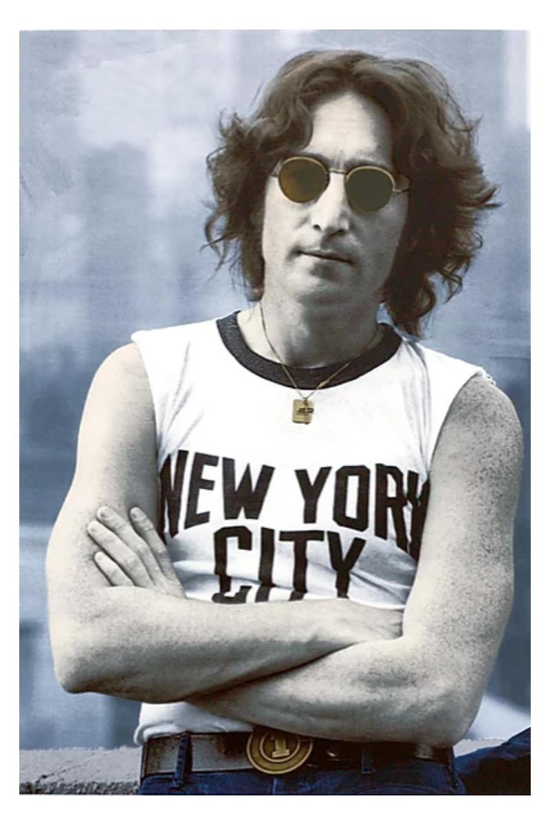 John Lennon (NYC 1974) by Bob Gruen
