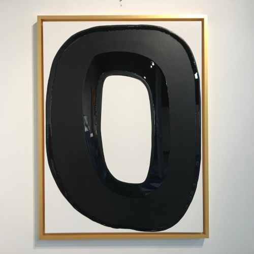 Circle Series 3. Black Matte & Gloss by Ted Collier at