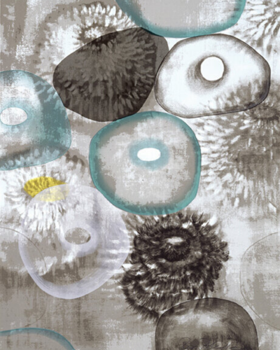 Happiness For Instance (1/3) by Ross Bleckner at
