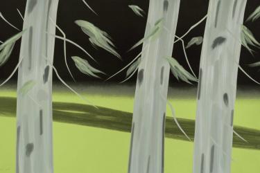 Three Trees by Alex Katz at Maune Contemporary