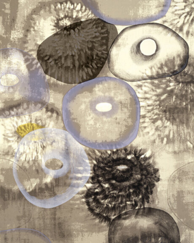 Happiness For Instance (3/3) by Ross Bleckner at