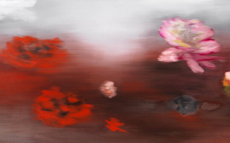 The Water Lilies (C.M.) by Ross Bleckner at