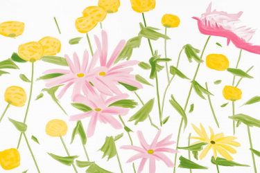 Spring Flowers by Alex Katz at Maune Contemporary