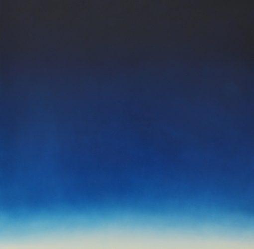 Us, Here, Westward Painting 1 by Alex Weinstein at Leslie Sacks Gallery (IFPDA)