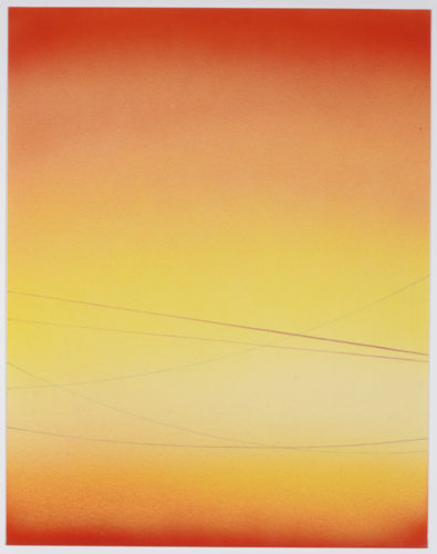 Power Line Drawing #19 by Alex Weinstein at