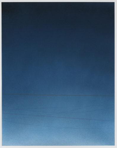 Power Line Drawing #20 by Alex Weinstein at