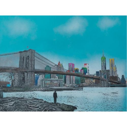 Brooklyn Bridge by Nick Walker