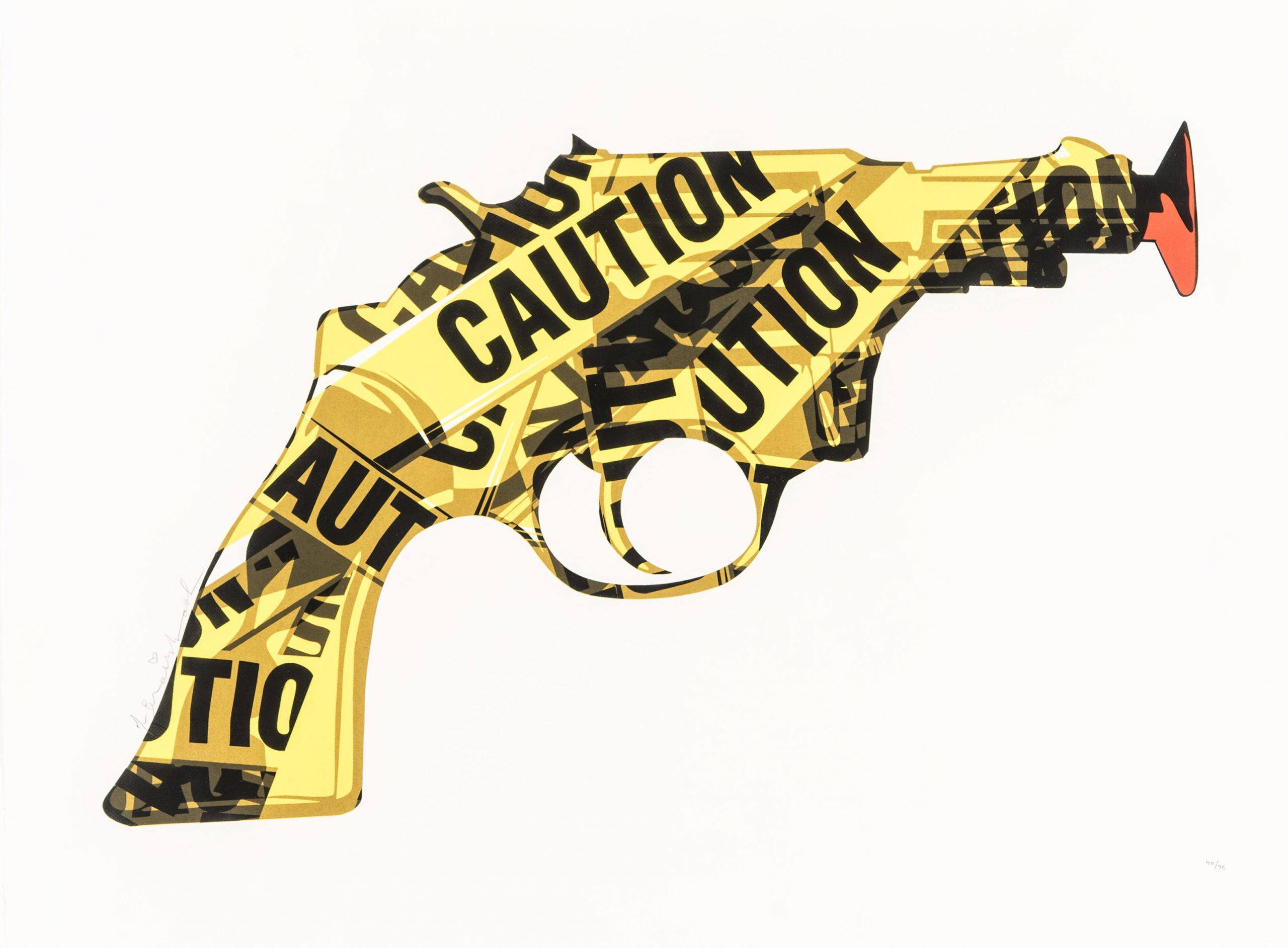 Handle with care by Mr Brainwash