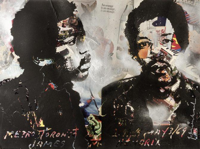 Jimi Hendrix by Mr Brainwash