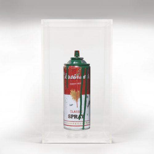 Spray Can Green by Mr Brainwash
