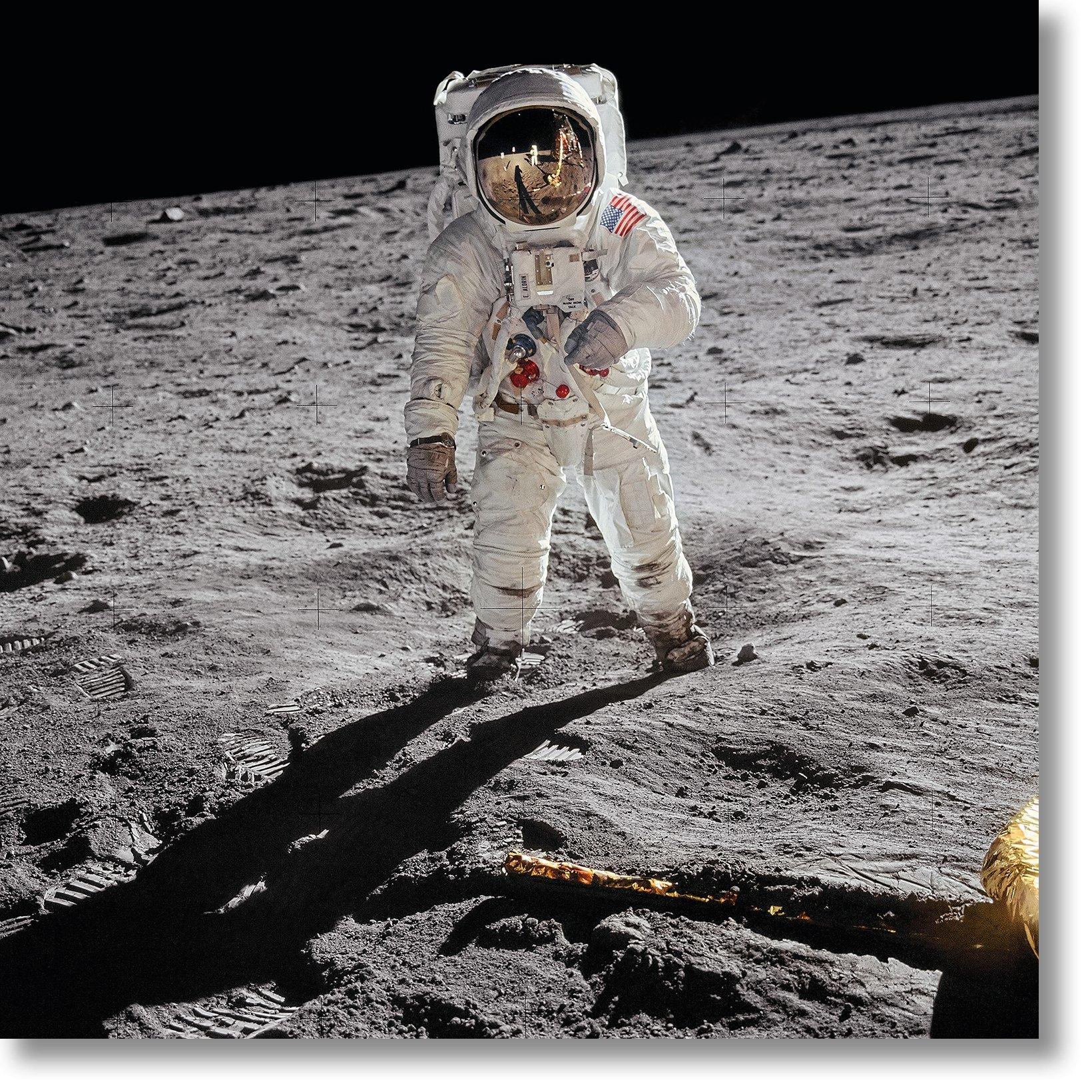 Apollo 11. A Man on the Moon by Buzz Aldrin