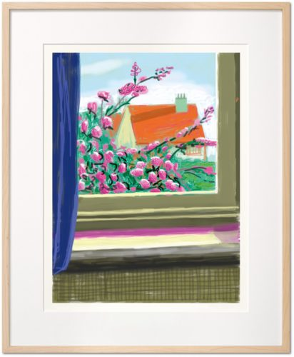 My Window. Art Edition (No. 751–1,000) 'No. 778', 17th April 2011 by David Hockney at Taschen