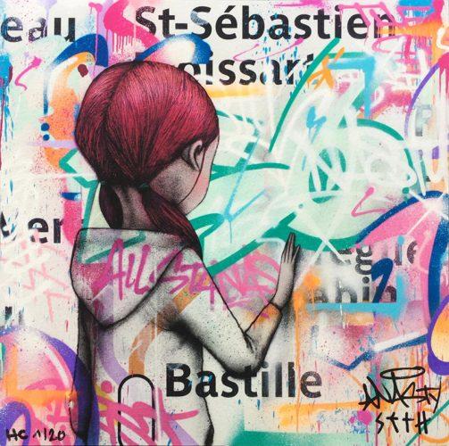 Metro Bastille, Paris by NASTY