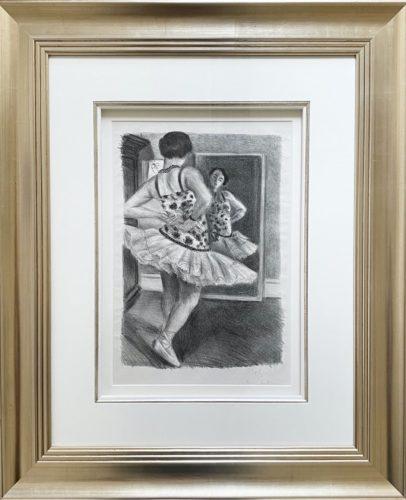 Danseuse reflete dans la glace by Henri Matisse