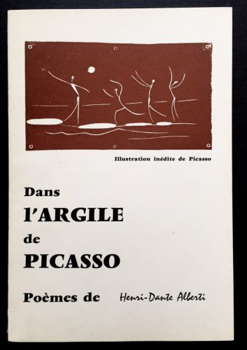 Dans l'argile de Picasso by Pablo Picasso at Fairhead Fine Art