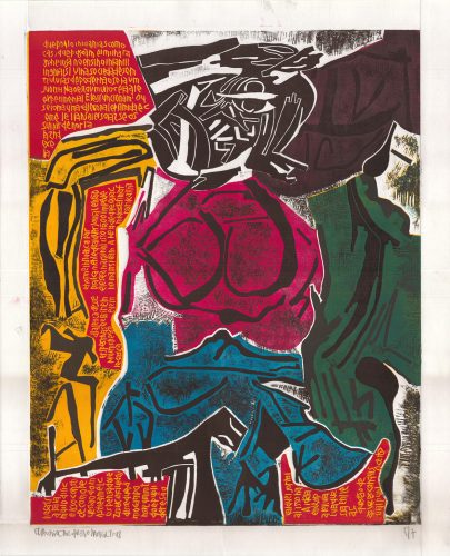 DeKooning 2 by Claudio Caropreso at Galeria Gravura Brasileira