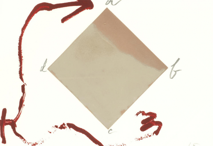 Abcd by Antoni Tapies