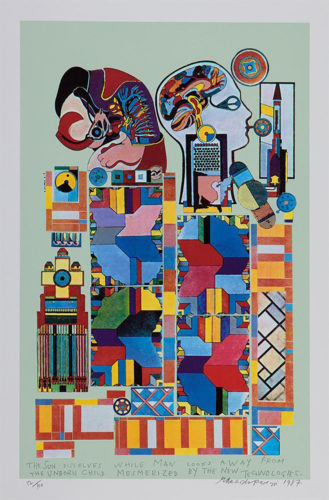 The Sun Dissolves by Eduardo Paolozzi