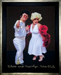 Elvis & Marilyn by Peter Blake at Fairhead Fine Art