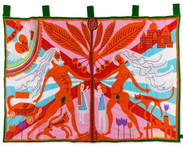 Marriage Flag by Grayson Perry RA at