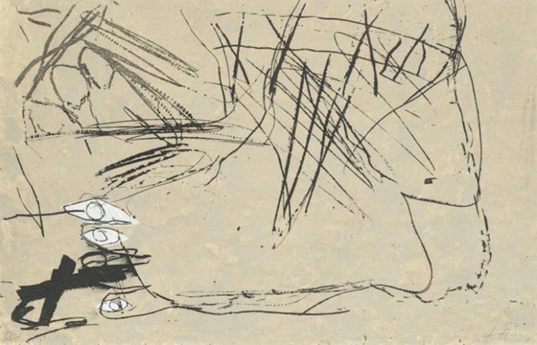 Tres Ulls by Antoni Tapies