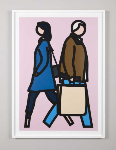 New York Couple 3 by Julian Opie at