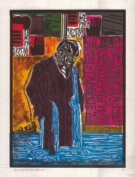 Kentridge 3 by Claudio Caropreso at Galeria Gravura Brasileira