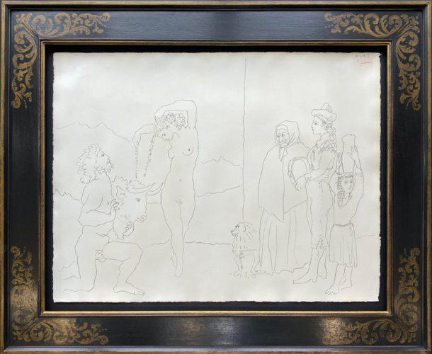 La danse des banderilles by Pablo Picasso