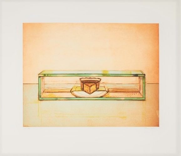 Pie Case by Wayne Thiebaud at Michael Lisi/Contemporary Art