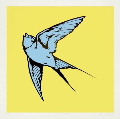 Love And Light (Yellow & Blue) by Dan Baldwin