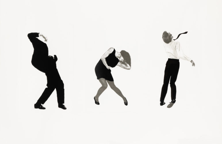 Untitled Pl. III (from Men in the Cities) by Robert Longo at