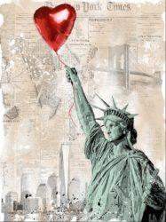 Heart & Soul Medium by Mr. Brainwash at Frank Fluegel Gallery