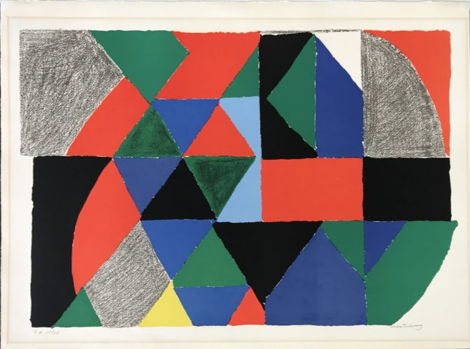 Polyphonie by Sonia Delaunay at