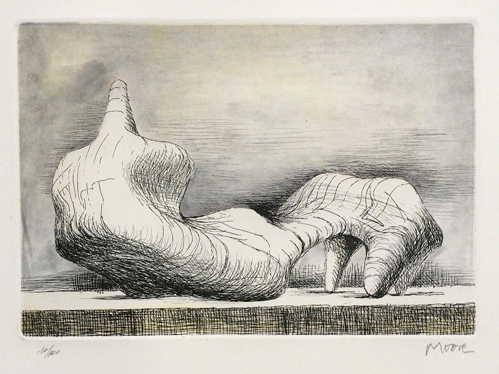 Reclining Figure, Point by Henry Moore