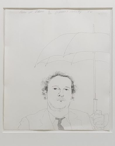 The Restauranteur by David Hockney