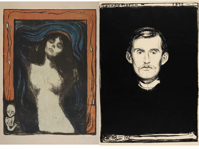 Munch and Warhol