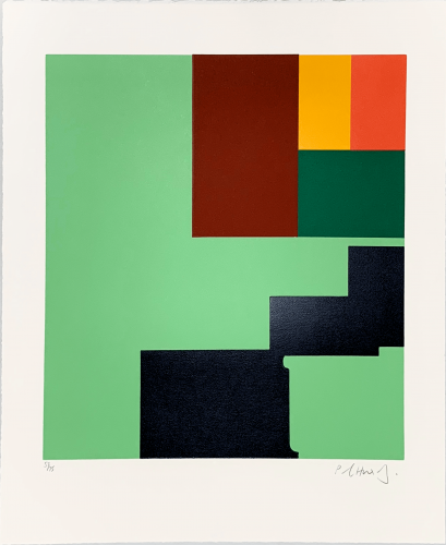 "Untitled"" – Rothko Memorial Portfolio"" by Paul Huxley"