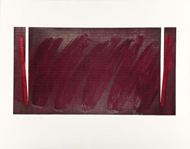 "Untitled – Rothko Memorial Portfolio"" by Richard Smith"