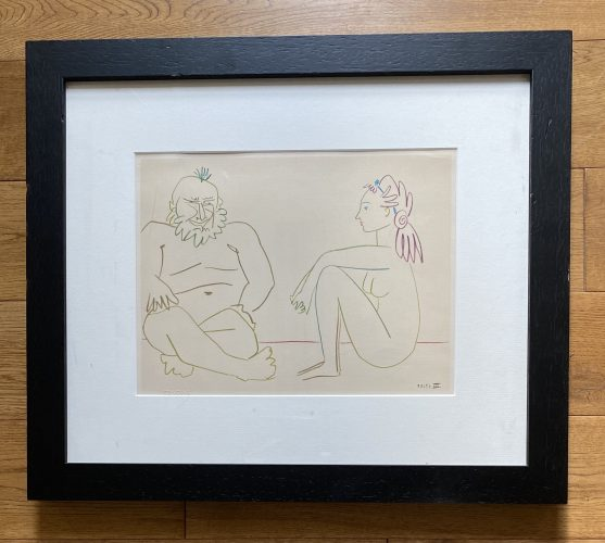 Verve 29-30 – Comédie Humaine 27/1/54.XIV by Pablo Picasso (after) at